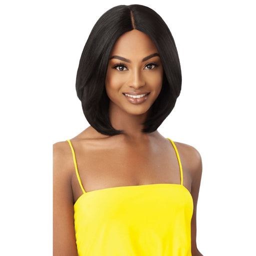 ROWENA | Outre The Daily Synthetic Lace Part Wig - Hair to Beauty | Color Shown: 1B
