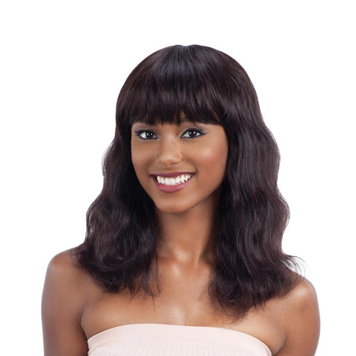 S-WAVE(S) | Unprocessed Remy Human Hair Wig - Hair to Beauty | Color Shown : NATURAL