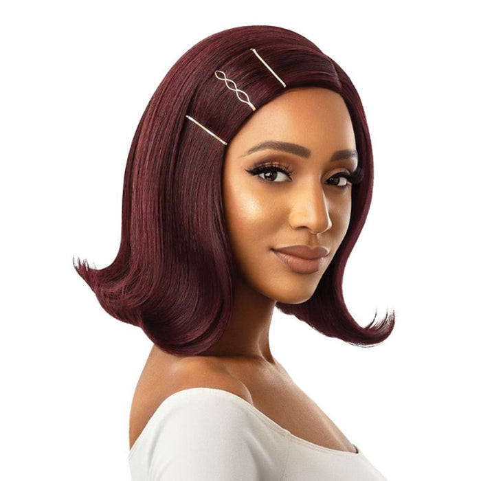 SARITA | Synthetic Swiss Lace Part Wig.
