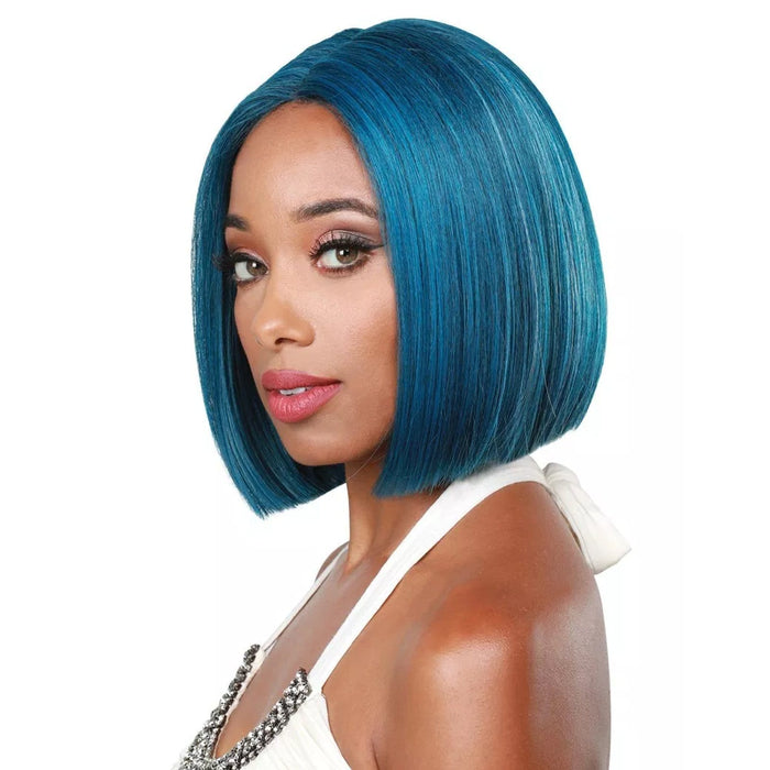 SASSY-H NOX | Zury Sis Synthetic Wig - Hair to Beauty | Color Shown : Sea Blue