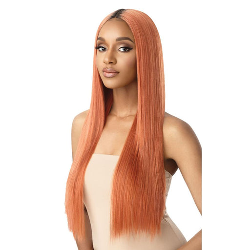 SEDIYAH | Outre Color Bomb Synthetic Lace Front Wig - Hair to Beauty | Color Shown: DRS SOFT COP