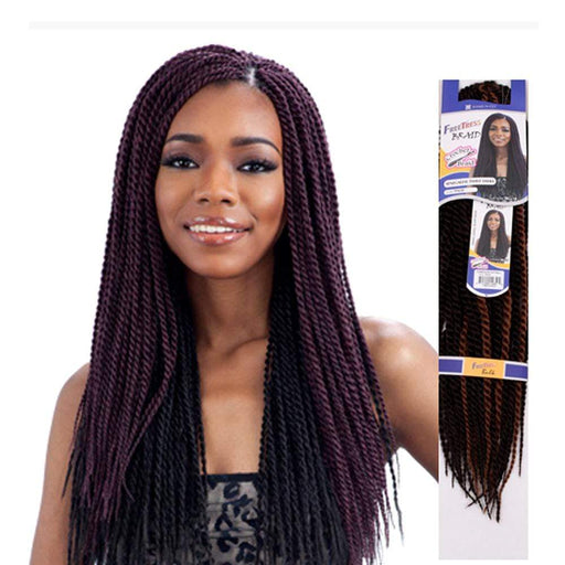 SENEGALESE TWIST SMALL | Synthetic Braid  | Color Shown: 99J+1B - Hair to Beauty