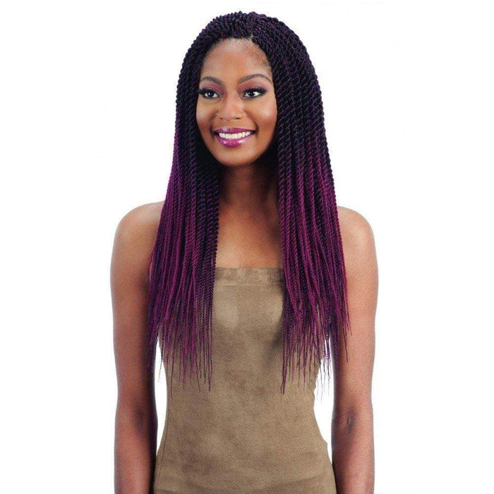 SENEGALESE TWIST | Synthetic Pre-Feathered Braid.