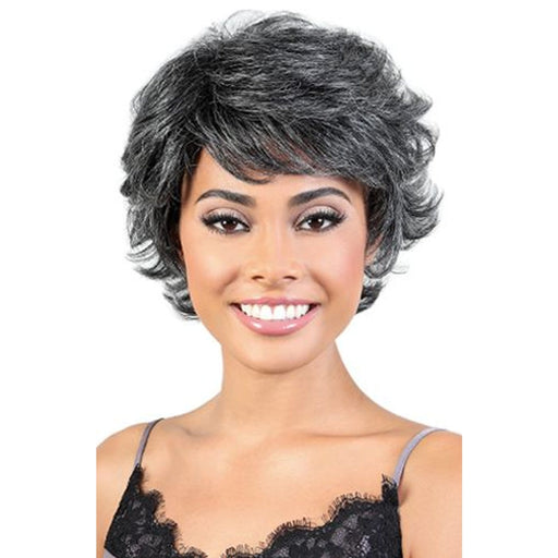 SH. BRENDA | Silver Collection Human Hair Wig - Hair to Beauty | Color Shown :  34