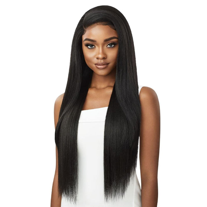 SHADAY | Perfect Hairline Synthetic 13x6 Lace Front Wig - Hair to Beauty | Color Shown: 1B