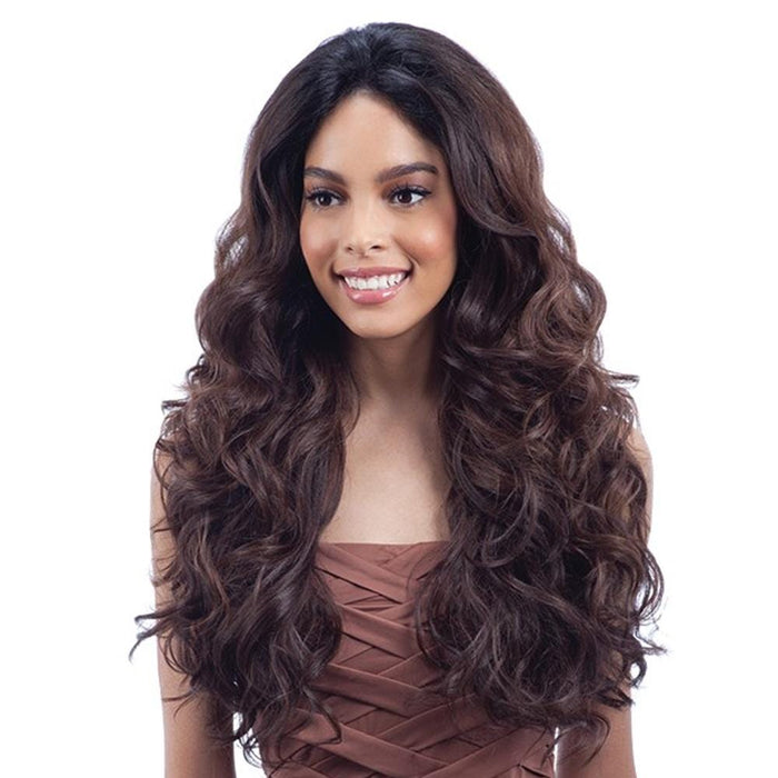 SHAKIRA | Synthetic U-Curve Lace Front Wig.