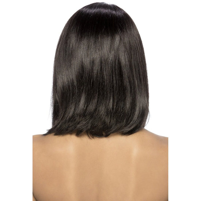 SHERI | Vivica A. Fox Brazilian Remi Natural Baby Hair Swiss Lace Front Wig - Hair to Beauty | Color Shown: NATURAL