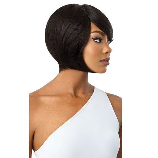 SHONDA | Outre Premium Human Hair Duby Wig - Hair to Beauty | Color Shown: 1B