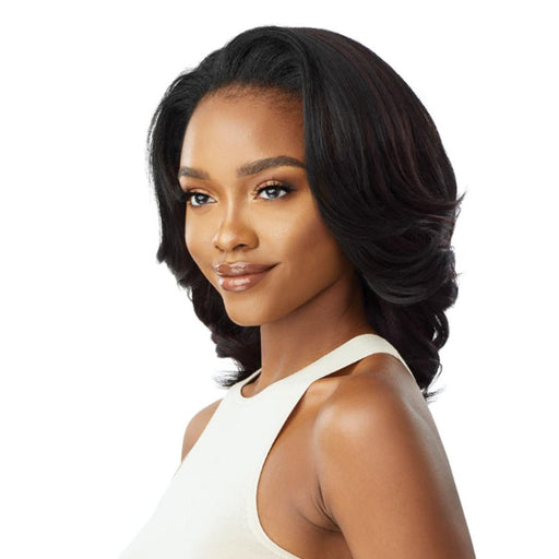 SHONTAY | Quick Weave Synthetic Half Wig - Hair to Beauty | Color Shown: S1B/BU