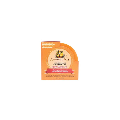 SUNNY ISLE | Jamaican Black Castor Edge Gel 3.5oz- Hair to beauty