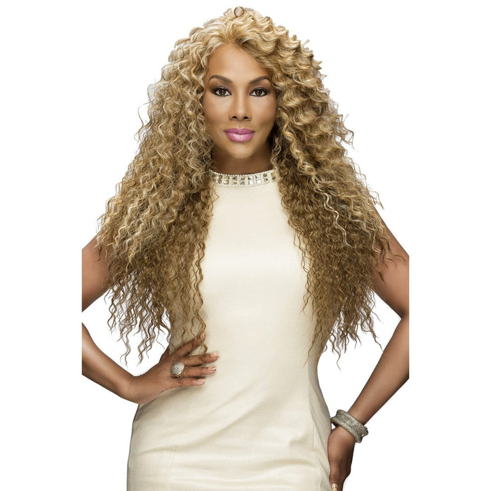 SOBE | Vivica A. Fox Synthetic Deep Swiss Lace Front Wig - Hair to Beauty | Color Shown: P2216