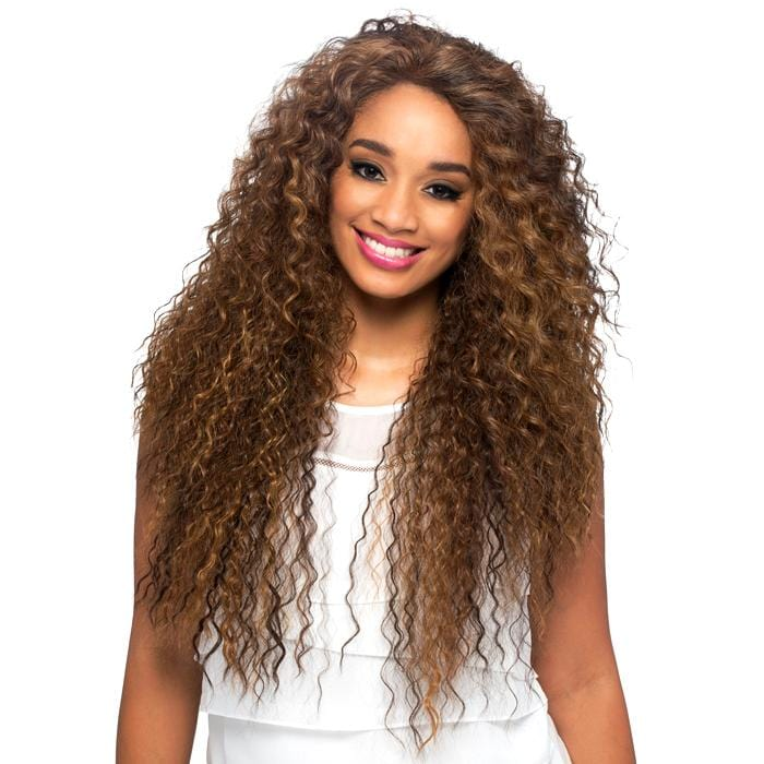 SOBE | Vivica A. Fox Synthetic Deep Swiss Lace Front Wig - Hair to Beauty | Color Shown: P4/27/30