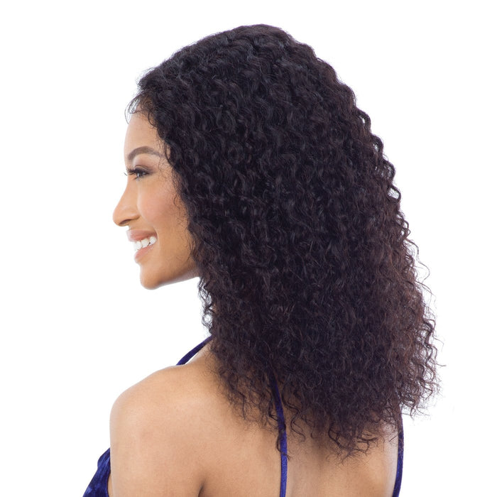 SONOMA | Unprocessed Brazilian Natural Human Hair Lace Front Wig - Hair to Beauty | Color Shown: NATURAL