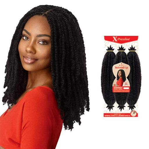 SPRINGY AFRO TWIST 16"