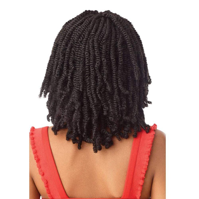 STRAIGHT BOMB TWIST 14 | X-Pression Twisted Up Lace Front Braid Wig.