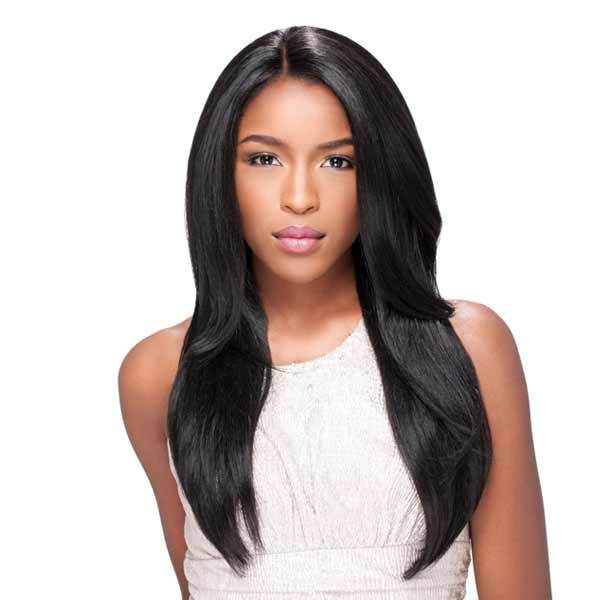 STRAIGHT | Sensationnel Empress Custom Synthetic Lace Front Wig - Hair to Beauty | Color Shown: