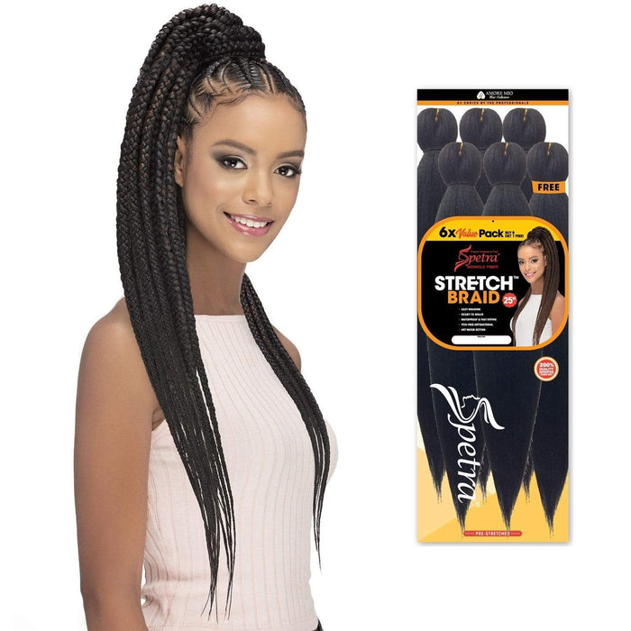 STRCHB625 6 PCS | Vivica A. Fox Ready Braid - Hair to Beauty | Color Shown: