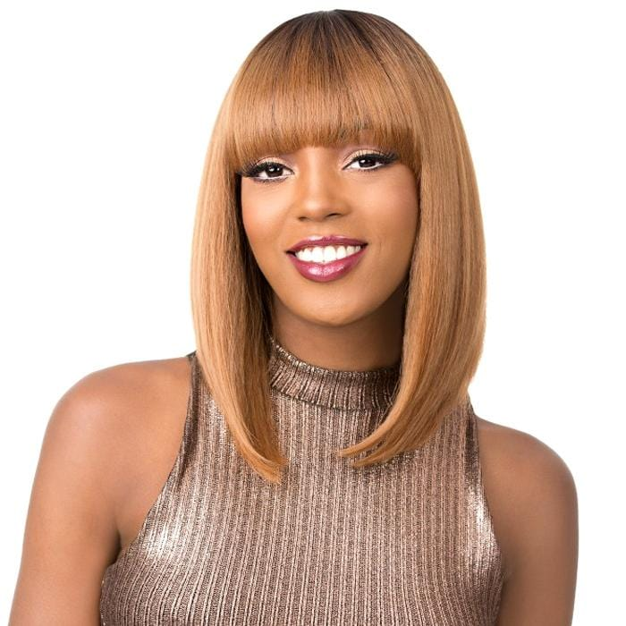 SUMMER RAIN | It's a Wig! Synthetic Wig - Hair to Beauty | Color Shown: TT27