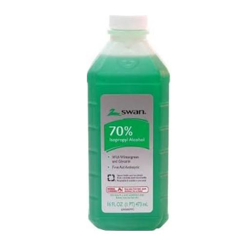SWAN | 70% Isopropyl Alcohol 16oz - Hair to Beauty