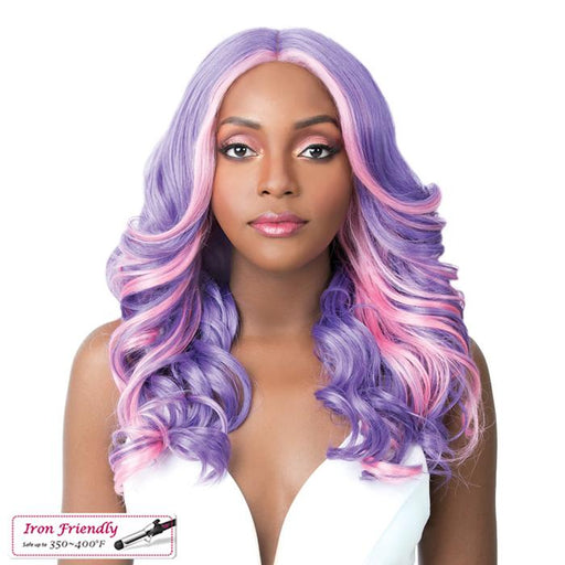 FRIDA | Synthetic Swiss Lace Front Wig.