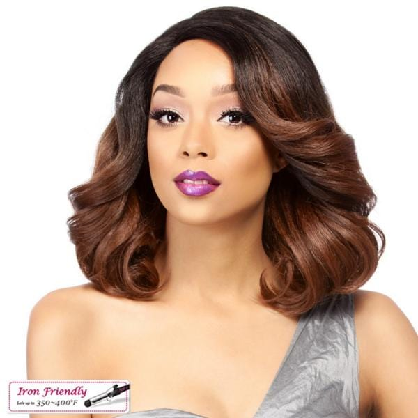 SWISS LACE MAITA | It's a Wig! Synthetic Lace Front Wig - Hair to Beauty | Color Shown: TT30