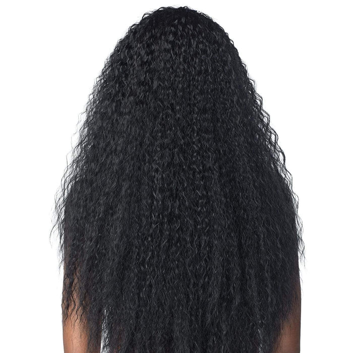 TASIA | Instant Weave Synthetic Half Wig - Hair to Beauty | Color Shown: 1B