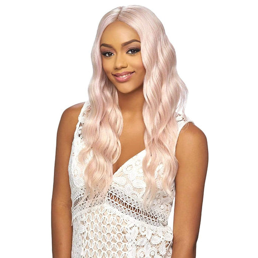 THL01 | Harlem125  Synthetic Pre-Plucked 13x6 Lace Front Wig - Hair to Beauty | Harlem125 Color Shown : ROSE GOLD