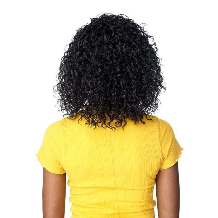 TIANA | Instant Weave Synthetic Half Wig - Hair To Beauty | Color Shown : 1B