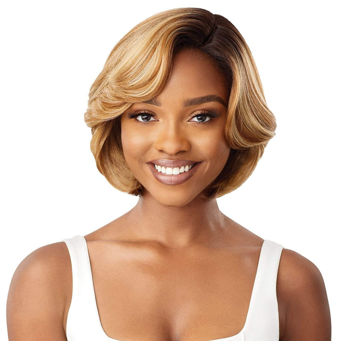 TINAYE | Outre Wigpop Synthetic Wig - Hair To Beauty | Color Shown : DR4/HONEY GOLD