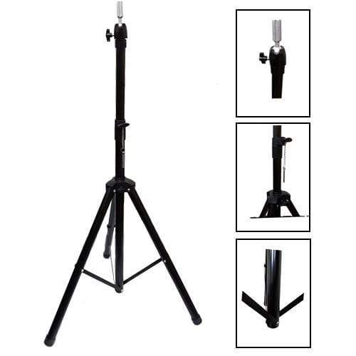 BE U | Adjustable Cosmetology Mannequin Head Holder Tripod Stand - Hair to Beauty