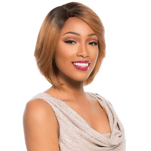 TYRA | Sensationnel Empire Celebrity Series Human Hair Lace Front Wig - Hair to Beauty | Color Shown:
