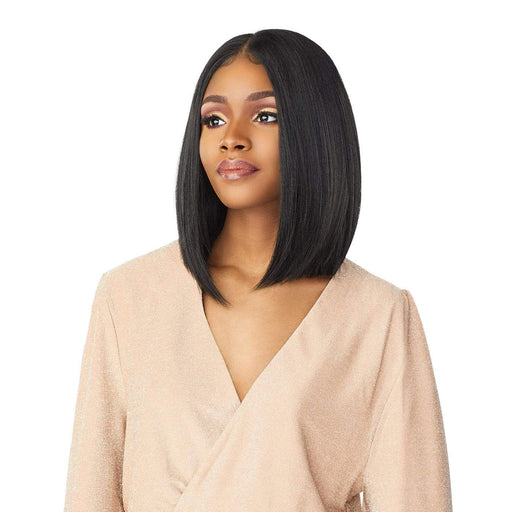 TYRINA | Cloud9 What Lace? Synthetic HD Swiss Lace Frontal Wig - Hair to Beauty | Color Shown: 1B