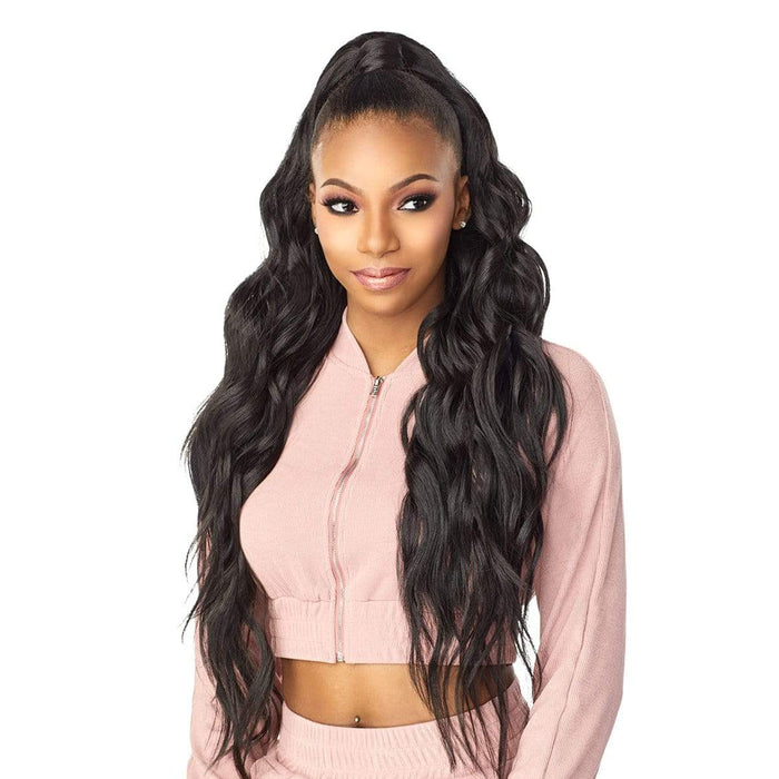 UD 5 | Instant Up & Down Synthetic Pony Wrap Half Wig.