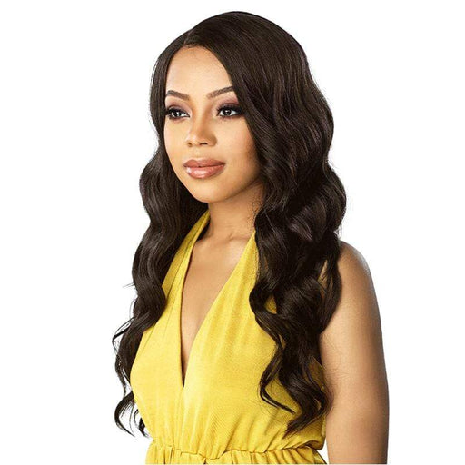 LACE UNIT 4 | Sensationnel Synthetic Lace Front Wig - Hair to Beauty | Color Shown : 1B