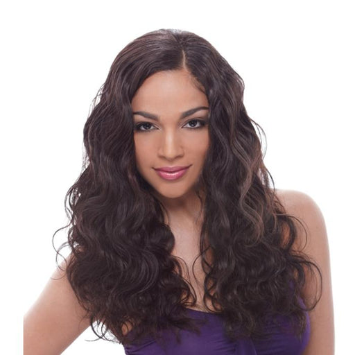 NATURAL BODY WAVE 7PCS | Unprocessed Brazilian Human Hair Weave - Hair to Beauty | Color Shown: NATURAL BLACK