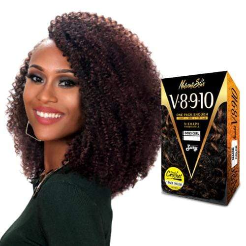 V8910 BOHEMIAN | Zury Sis Naturali Star Synthetic Crochet Braid - Hair to Beauty | Color Shown: