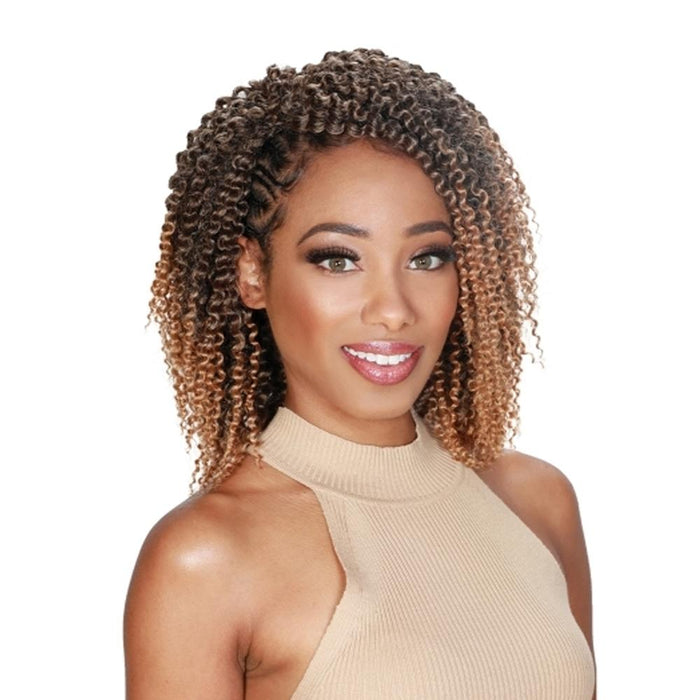 V8910 KINKY TWIST OUT | Naturali Star Synthetic Braid - Hair to Beauty | Color Shown: HONEY BLONDE
