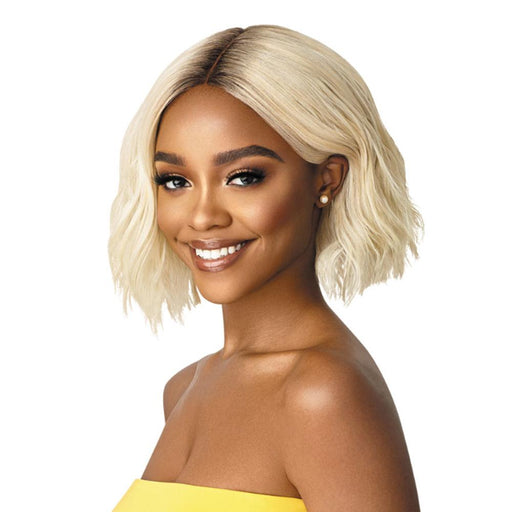 VALENCIA | The Daily Synthetic Lace Part Wig - Hair to Beauty | Color Shown: DR4/613