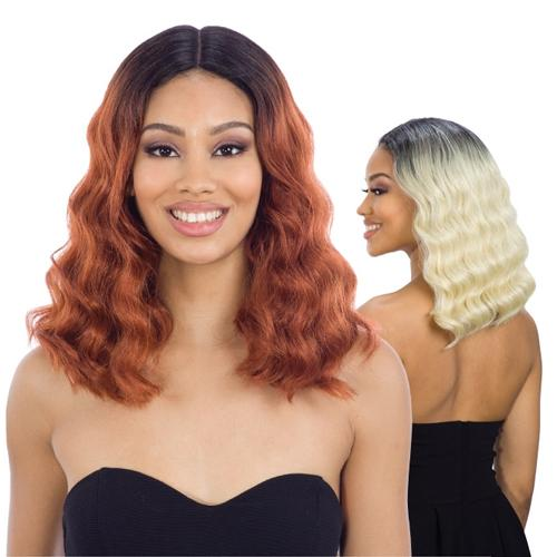 VENETIA | Synthetic Lace Part Wig.