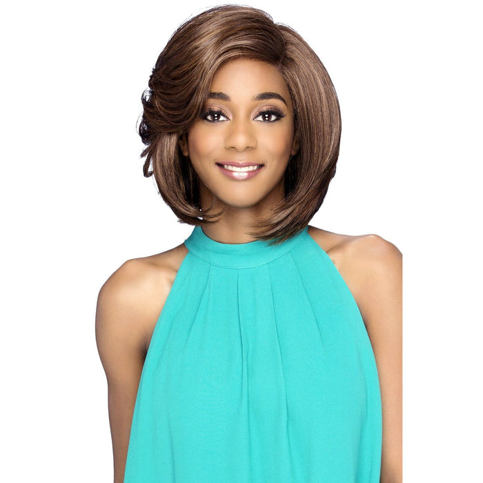 VENEZIA | Vivica A. Fox Synthetic Invisible Part Lace Front Wig - Hair to Beauty | Color Shown: M1PB