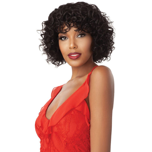 VENUS | Outre Unprocessed Human Hair Fab N Fly Full Cap Wig - Hair to Beauty | Color Shown : NATURAL BROWN