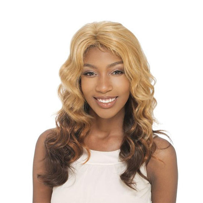 VENUS | Human Hair Invisible Part Lace Front Wig - Hair to Beauty | Shown Color: GF2/30/33