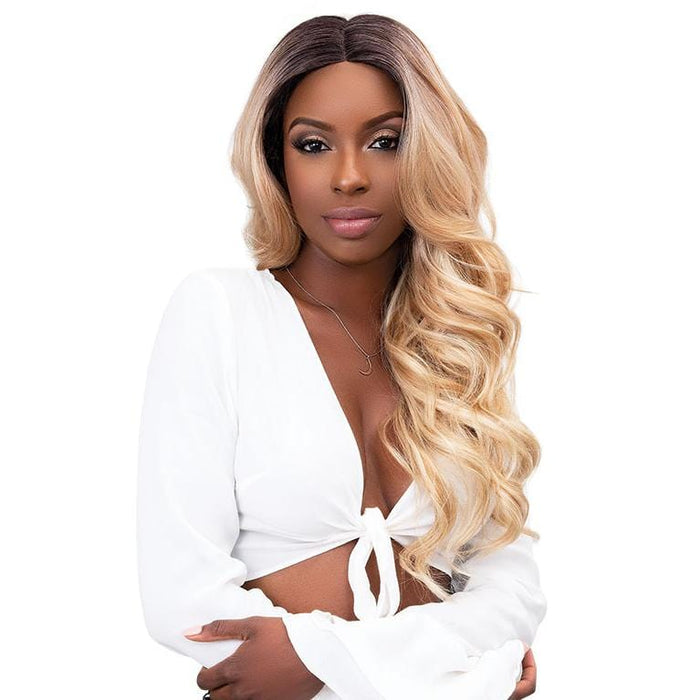 VIVIA | Extended Deep Part Swiss Lace Wig  - Hair to Beauty | Color Shown: BUTLER SCOTCH