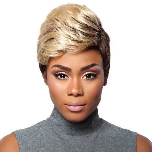 VOLUME CHIC | Outre Premium Duby Human Hair Wig - Hair to Beauty | Color Shown: DRB613/4
