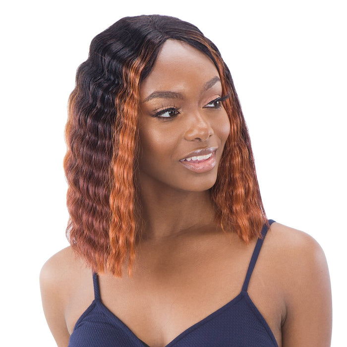 DEEP WAVER 001 | Synthetic Lace Front Wig - Hair to Beauty | Color Shown: FFH1B99130