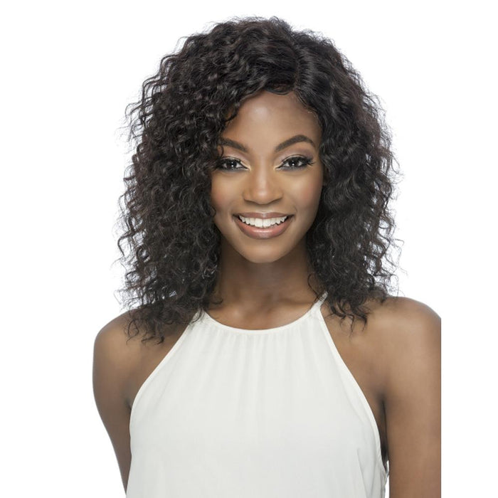 WASHINGTON | Brazilian Remi Full Swiss Lace Front Wig - Hair to Beauty | Color Shown: NATURAL