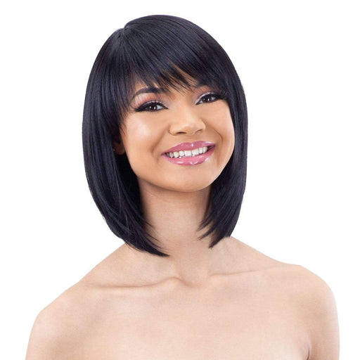 LITE WIG 002 | Synthetic Wig - Hair to Beauty | Color Shown: 1B