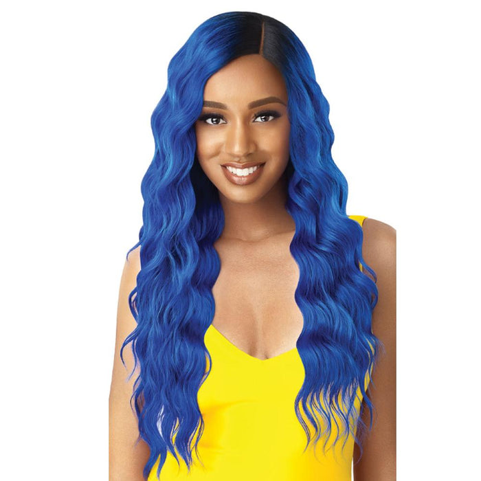 WILLOW | The Daily Synthetic Lace Part Wig - Hair to Beauty | Color Shown: DR Royal Blue