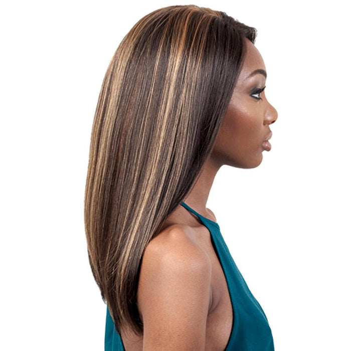 WL.LEX | Motown Tress Let's Lace Synthetic Whole Lace Wig - Hair to Beauty | Color Shown: F1B/30
