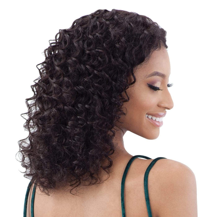 GF-D18 | Shake-N-Go Girl Friend Virgin Human Hair Lace Front Wig - Hair to Beauty | Color Shown: NATURAL